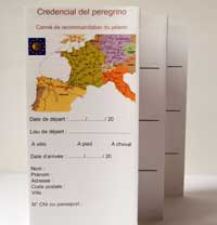 credential compostelle
