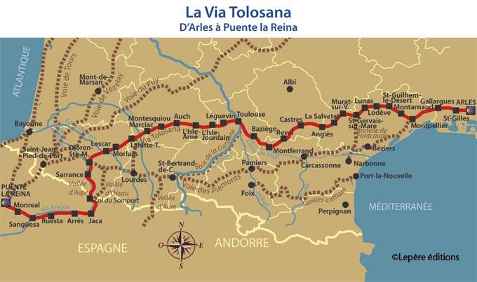 Via Tolosana - 10 самых известных маршрутов по Франции