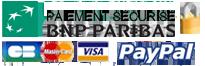 Carte Bancaire BNP - CB - Visa - Mastercard - Paypal