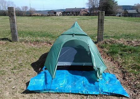 Emporter sa tente sur le chemin de Compostelle ?